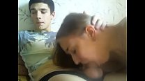 young russian students fuck in front webcam hig...