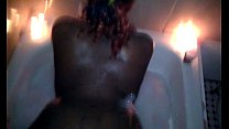fucking wifey thick ass in the Jacuzzi