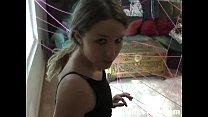 Cute 18YO Plays Burglar to Get her Dildo - Darl...