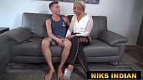 Couple invited Niks to teach them Yoga