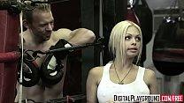 Hot blonde (Jesse Jane, Erik Everhard) fuck in ...
