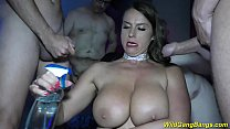 busty Milf Sexy Susi anal gang banged
