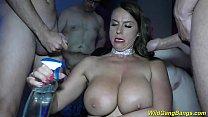 busty Milf Sexy Susi anal gang banged Thumbnail