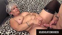 Golden Slut - Insatiable Granny Kelly Leigh Com...