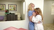 Doctor and her hot lesbian receptionist - Cheri...