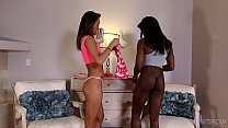 Alina Li and Ana Fox Having An Interracial Thre...