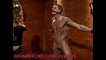 Screenshot Mistress and he r male slave