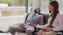 Stressed out colleagues have interracial anal s...