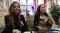 Les soeurs jumelles Dellai se tapent un gros ve... Thumbnail