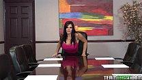 TittyAttack Office big boobs brunette Mackenzee Pierce hardcore sex big cock