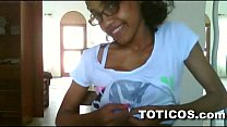 Toticos.com - fine ass dominican girl with glas...