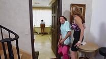 Julia Ann's Pervert Step Son Fancies The Maid A...