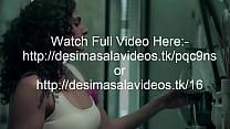 Desi sexy girl in blue and white bra seducing boyfriend for sex and hardcore fucking desi actress