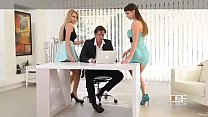 Office Adventures-Luxury Secretaries fuck the Boss Thumbnail