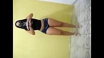 Morena Cavala dançando funk de shortinho socado no cu Thumbnail