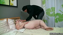 Busty fat girl and skinny guy Thumbnail
