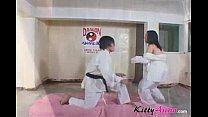 Karate filipina player gets cumshot Thumbnail