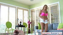 Superb blonde housewife Natalia Starr take cock...