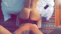 Big butt white girl getting fucked