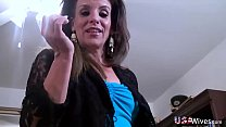 USAWives Horny mature wife from USA fulfilling ...