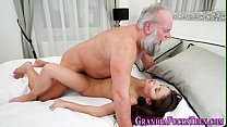 Teen banged by old man Thumbnail