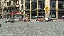 Spectacular Public Nudity With Horny Blonde Celine Aka Evi C.