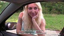 Bitch STOP - Blonde hooker picked up on Czech s...