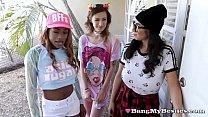 Horny Arcade Girls Share Big Hard Meaty Joystick
