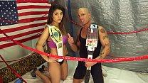 UNDERGROUND INTERGENDER WRESTLING PROMOTION  Maria vs Man Mixed Wrestling