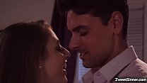 College babe Gia Derza hooks up with a hot stud... Thumbnail