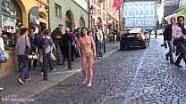 Spectacular Public Nudity With Horny Babes On S...