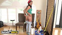 BANGBROS - Young, Skinny Brazillian Maid Gina Valentina Sucks and Fucks