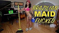 BANGBROS - Young, Skinny Brazillian Maid Gina V...