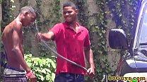 Gay african twinks fucking at outdoor carwash Thumbnail