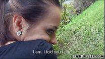 Czech babe smashed by pervert stranger