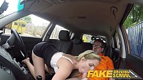 Fake Driving School Georgie Lyall Off Duty Sex Thumbnail