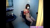 Mina Yamada busty in ropes gets vibrators