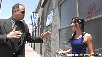 Lina Paige enjoys BBC terapie while her father ...