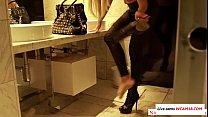 German Pornstar Nina Elle doing a little role p... Thumbnail