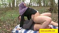 Une maigrichonne bien salope se fait culbuter e... Thumbnail