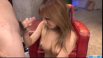 Cock sucking Kokoa Ayane loves to swallow