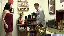 Bella catches stepbro with her panties so she s...