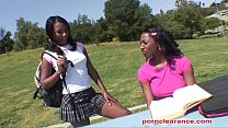 Ebony Sorority Girls Have Pussy Licking Good Time Thumbnail