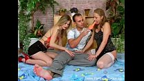 Two Girls One Guy Czech 3some)