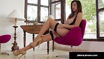 Gorgeous Jelena Jensen Does A HOT Vintage Panty...