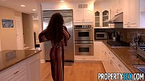 PropertySex - Petite real estate agent with amazing body fucks client