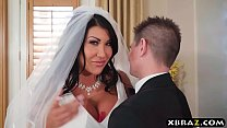 Huge tits bride cheats on her wedding day with ... Thumbnail
