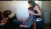 Amateur Teen Threesome