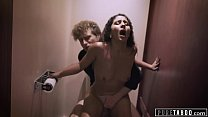 PURE TABOO Nympho Wife gets Risky Creampie From Stranger)