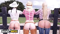 BANGBROS - On The Dude Ranch With Rachel Starr,...